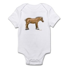 Draft Horse Infant Bodysuit