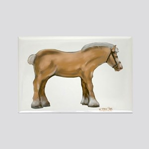 Draft Horse Rectangle Magnet
