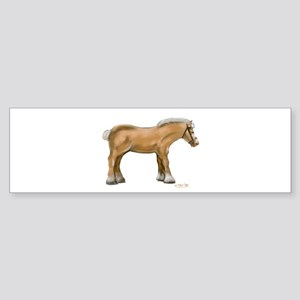 Draft Horse Sticker (Bumper)