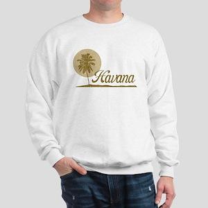 Palm Tree Havana Sweatshirt