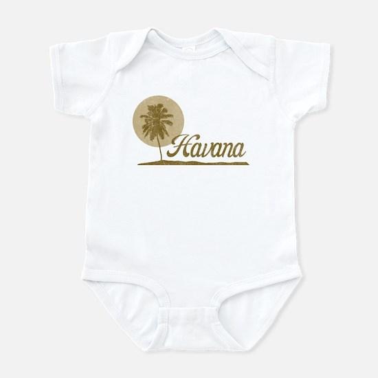 Palm Tree Havana Infant Bodysuit