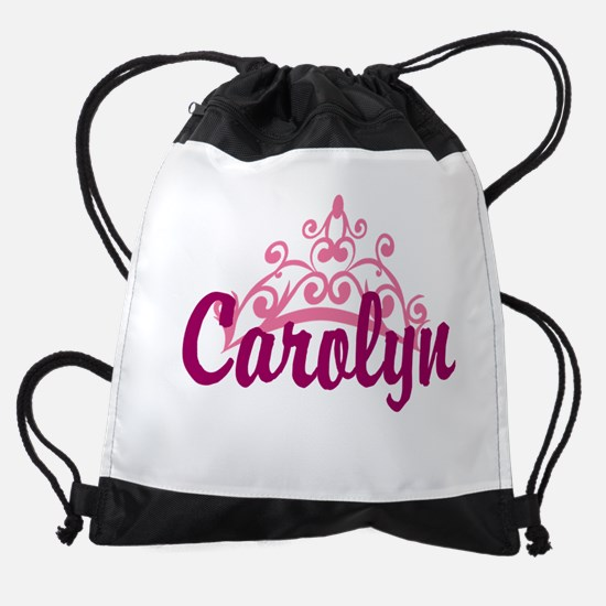 Princess Crown Personalize Drawstring Bag