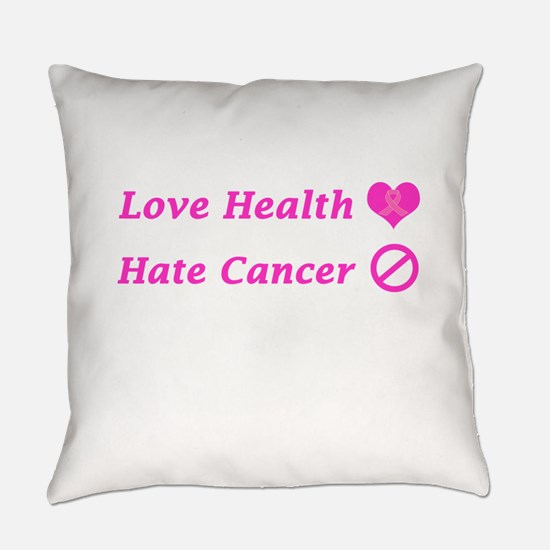 Love Health, Hate Cancer Charity Design Everyday P