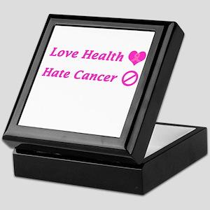 Love Health, Hate Cancer Charity Keepsake Box