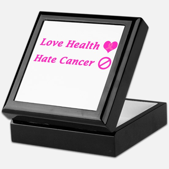 Love Health, Hate Cancer Charity Keepsake Box