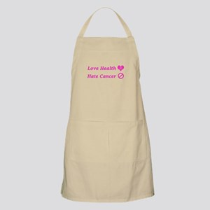Love Health, Hate Cancer Charity Design Apron