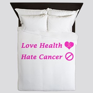Love Health, Hate Cancer Charity Queen Duvet