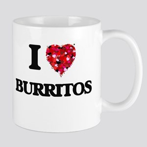 I Love Burritos food design Mugs