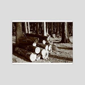 Lumber 5'x7'Area Rug