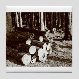 Lumber Tile Coaster