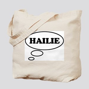 Thinking of HAILIE Tote Bag