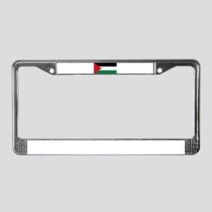 The Palestinian flag License Plate Frame