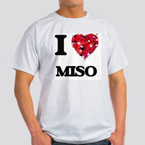 I Love Miso food design T-Shirt