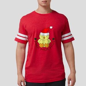 Cartoon Chicken Santa T-Shirt