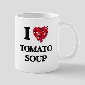 I Love Tomato Soup food design Mugs