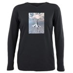 Structural Tower of Atlantis Plus Size Long Sleeve