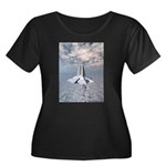 Structural Tower of Atlantis Plus Size T-Shirt