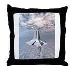 Structural Tower of Atlantis Throw Pillow