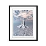 Structural Tower of Atlantis Framed Panel Print