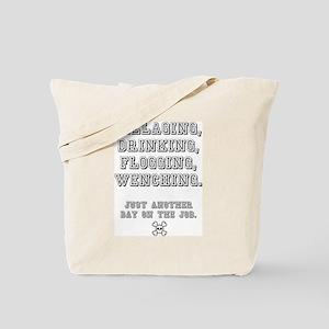 PILLAGING ETC CROSSBONES - JUST ANOTHER D Tote Bag