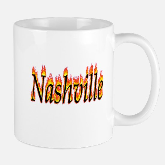 Nashville Flame Mugs