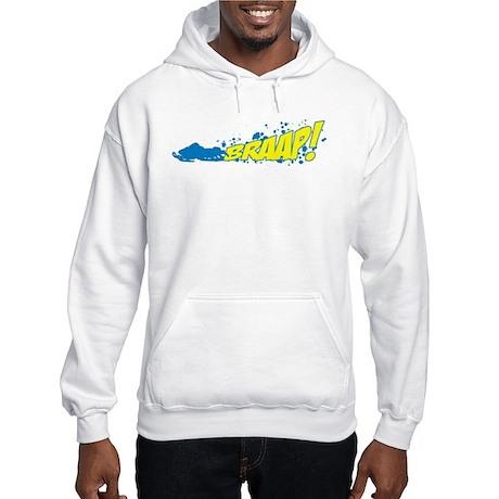 BRAAP! - Blue logo Hooded Sweatshirt