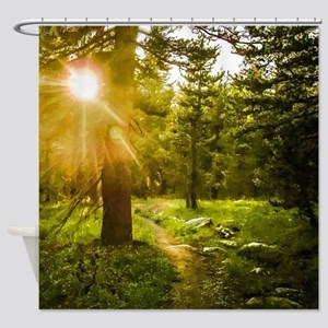 A Light Unto My Path Shower Curtain