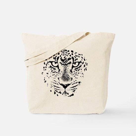 Cute Cat face Tote Bag