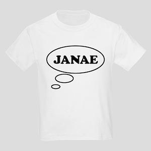 Thinking of JANAE Kids Light T-Shirt