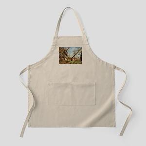 Camille Pissarro - Chestnut Trees at Louveci Apron