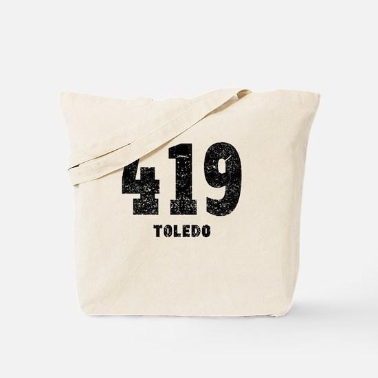 419 Toledo Distressed Tote Bag