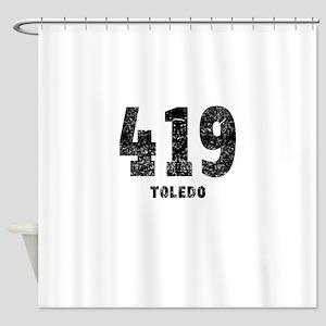 419 Toledo Distressed Shower Curtain