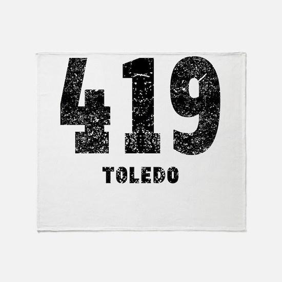419 Toledo Distressed Throw Blanket