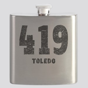 419 Toledo Distressed Flask