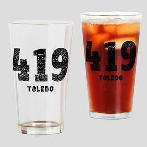 419 Toledo Distressed Drinking Glass
