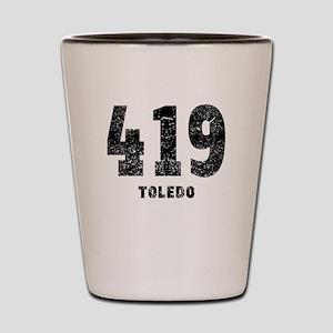 419 Toledo Distressed Shot Glass