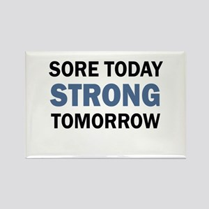 SORE TODAY Magnets