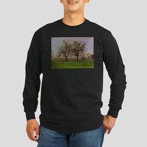 Camille Pissarro - Apples Tree Long Sleeve T-Shirt