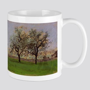 Camille Pissarro - Apples Trees at Pontoise Mugs