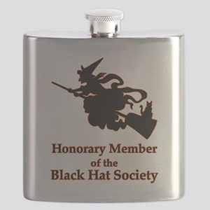 Black Hat Society Flask