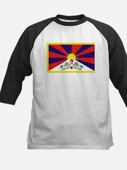 Tibetan Free Tibet Flag - Peu Rang Baseball Jersey