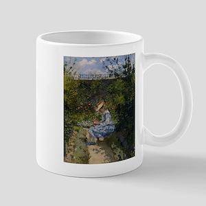 Camille Pissarro - Jeanne in the Garden, Pont Mugs
