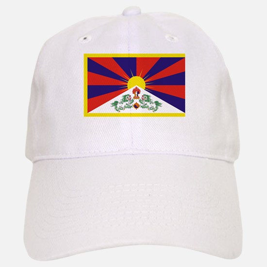 Tibetan Free Tibet Flag - Peu Rangzen Baseball Baseball Cap