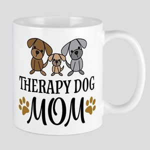 Therapy Dog Mom Mugs