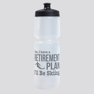 Ski Retirement Plan Sports Bottle