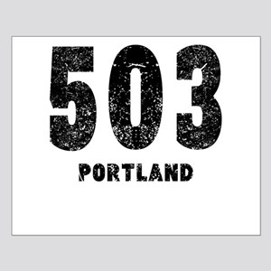 503 Portland Distressed Posters