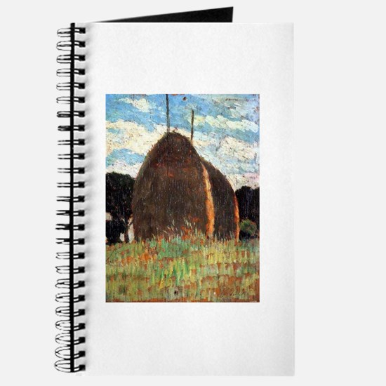 Giovanni Fattori - Hay Stacks Journal