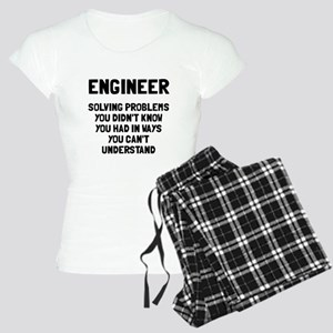 Engineer solving problems Women's Light Pajamas