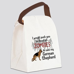 GSD vs Zombies Canvas Lunch Bag