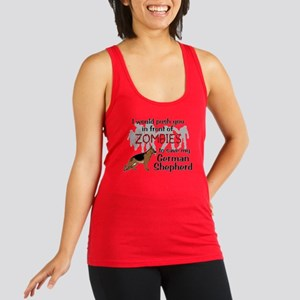 GSD vs Zombies Racerback Tank Top